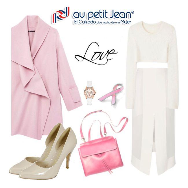 Femenina y preparada para cualquier cambio de clima con tus #AuPetitJean ¿Te gusta la combinación?
