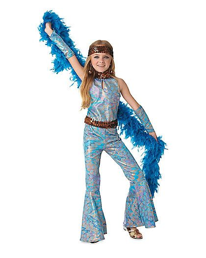 disco queen girls costume