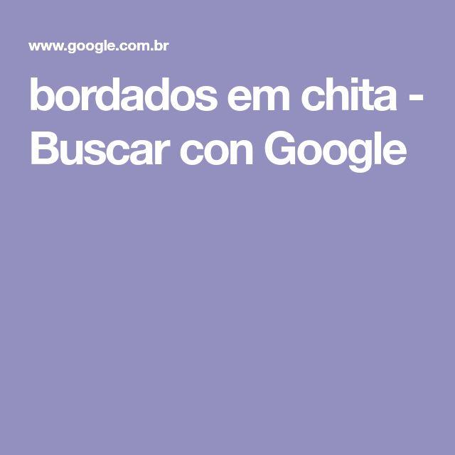 bordados em chita - Buscar con Google