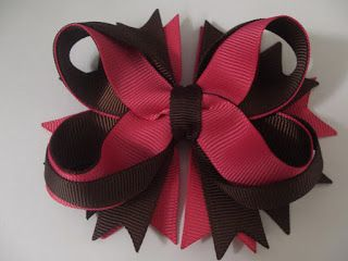 Twisted ribbon bow. Boutique style. Very elaborate. Great instructions.     grosgrain ribbon supplier Australia.