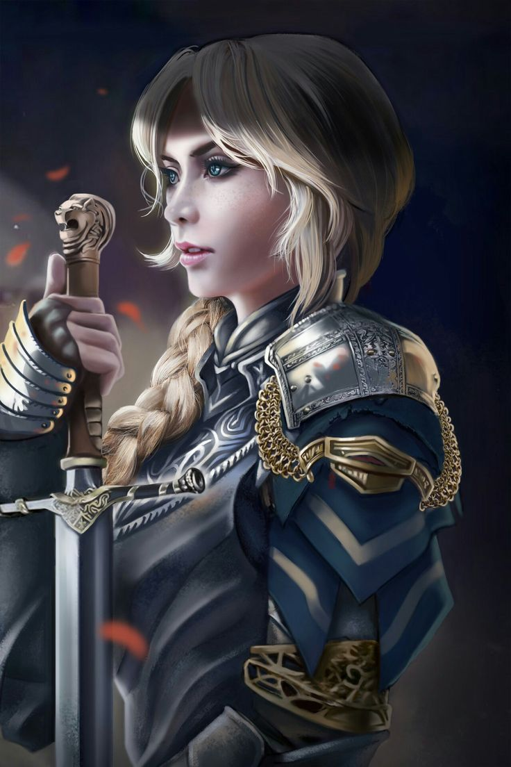 Ceryn light sister King's Guard by Xavier Ou