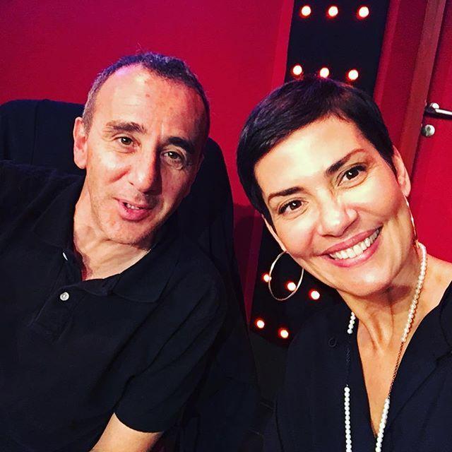 On n'arrête pas de rigoler aux Grosses Têtes 😂😂😂 @eliesemounofficiel ! Et c'est maintenant sur @rtl_france 😘📻 #radio #france #rtl #lesgrossestêtes