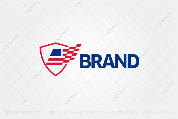 Logo for sale: American Security Logo