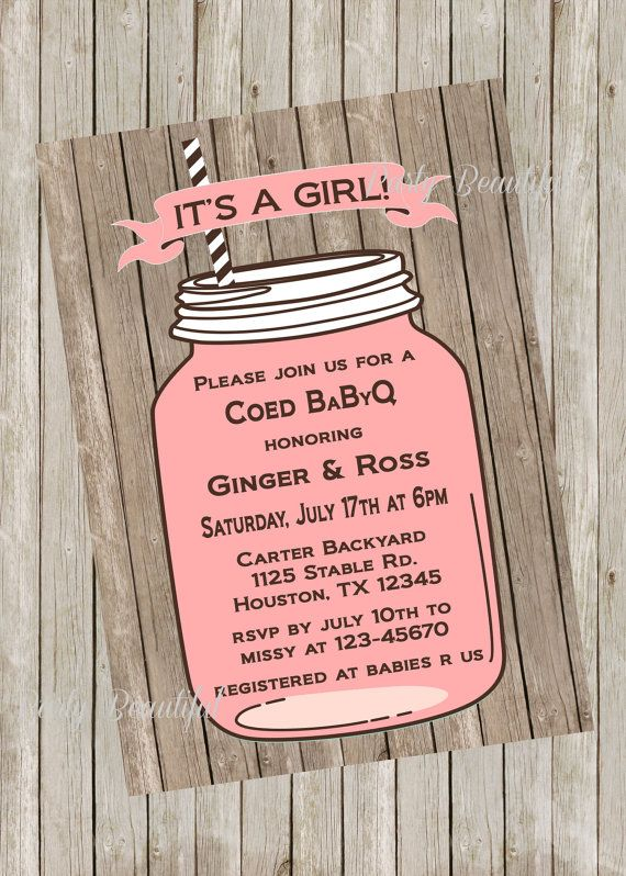 17 Best ideas about Coed Baby Shower Invitations on Pinterest ...