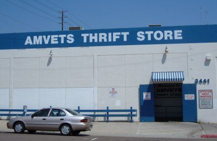 AMVETS thrift store! Yay!