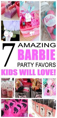 Fun kids barbie party favor ideas. Try these diy barbie party favors for boys and girls. Here are some easy goodie bags and treats to say thank you to the friends of that special birthday child.