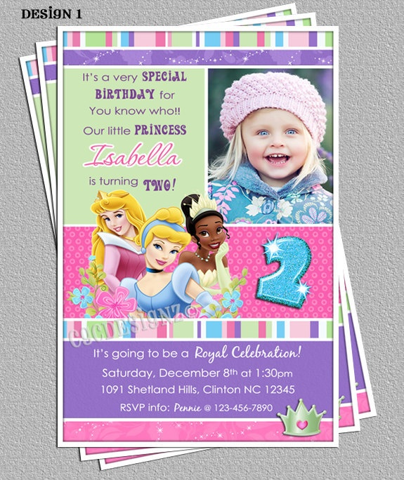 13 best Sleeping Beauty invitations images – Princess Tiana Party Invitations