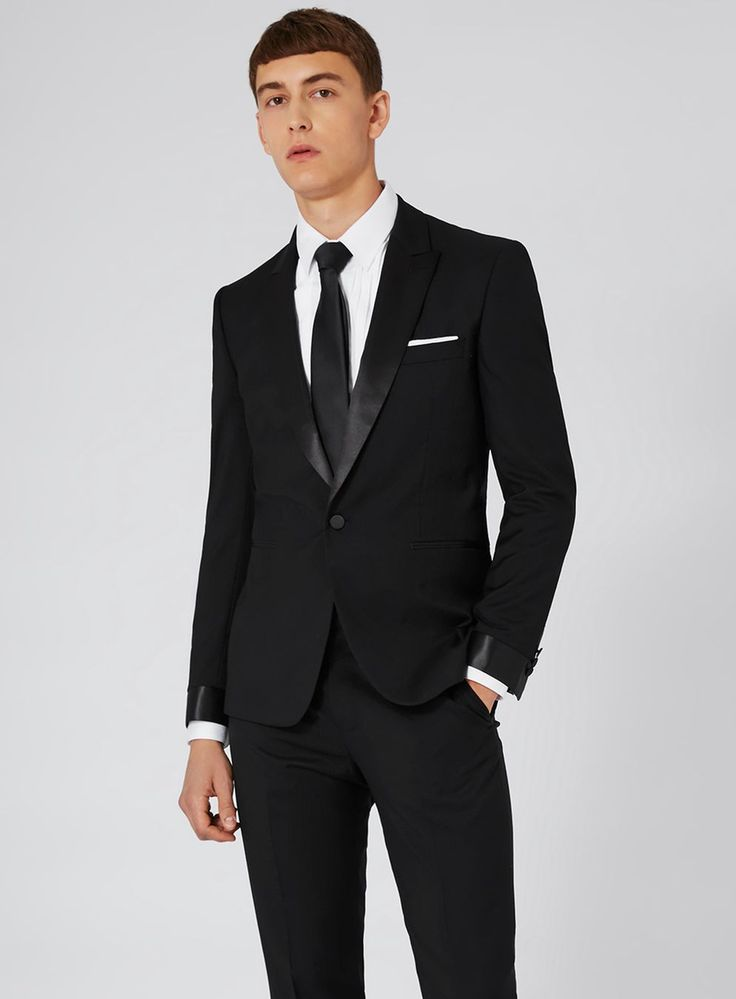 CHARLIE CASELY-HAYFORD X TOPMAN Black Occasion Suit