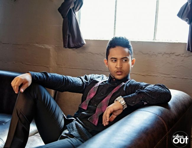 Get the look: Tahj Mowry dresses to impress for 'rolling out' - Rolling Out
