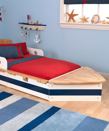 Look what I found on #zulily! Boat Toddler Bed #zulilyfinds