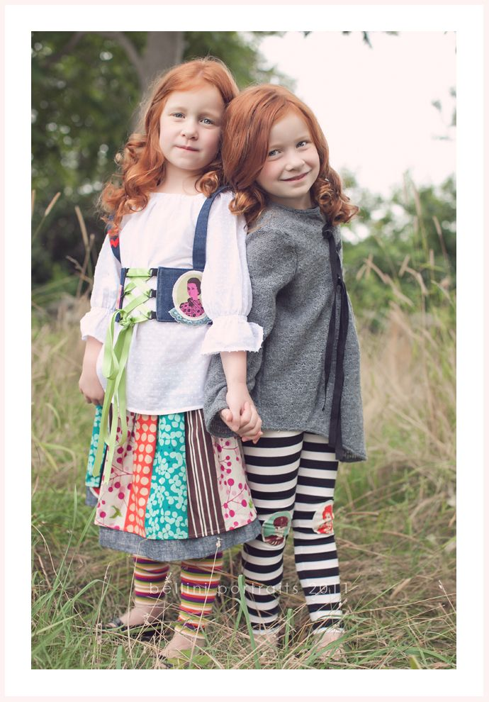 Red Headed Sisters ~ SO MUCH CUTE!