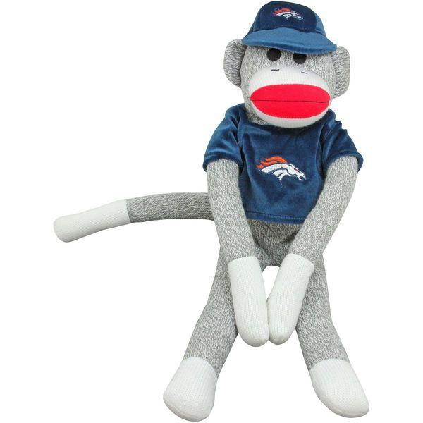Denver Broncos Uniform Sock Monkey