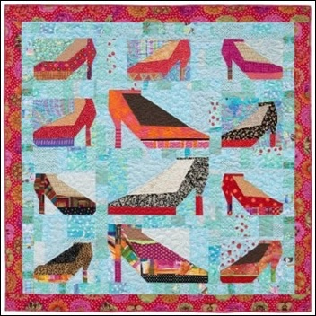 shoe quilt: Shoes Quiltsup, Shoes Fetish, Quilts Inspiration, Baby Quilts, Quilts Magic, Quilts Blocks, Pieces Quilts, Create Quilts, Machine Quilts