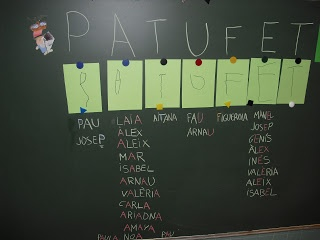 Petits Grans Artistes!: PATIM, PATAM, PATUM...