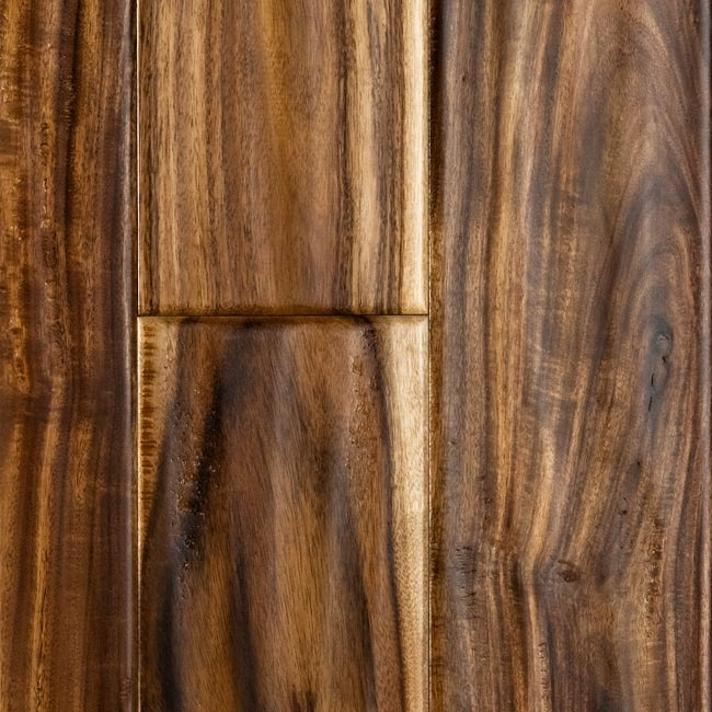 Tobacco road teak handscraped wood floors for the lake for Tobacco road acacia wood flooring