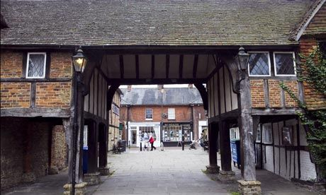 The historic side of Godalming