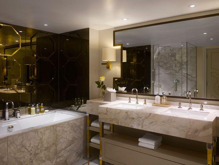 Royal suite at intercontinental london park lane designed for Bathroom interior design london
