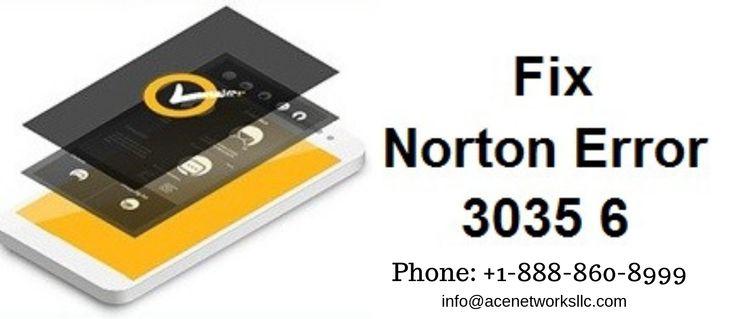 Error 3035 Norton