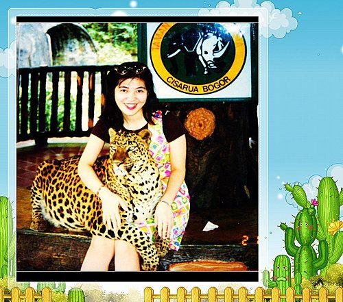 印尼Indonesia~茂物Bogor ~印尼野生動物園Taman Safari~擁抱紅毛猩猩、雲豹~鼻、我、永華(2) @ 燕青大美女部落格 :: 隨意窩 Xuite日誌