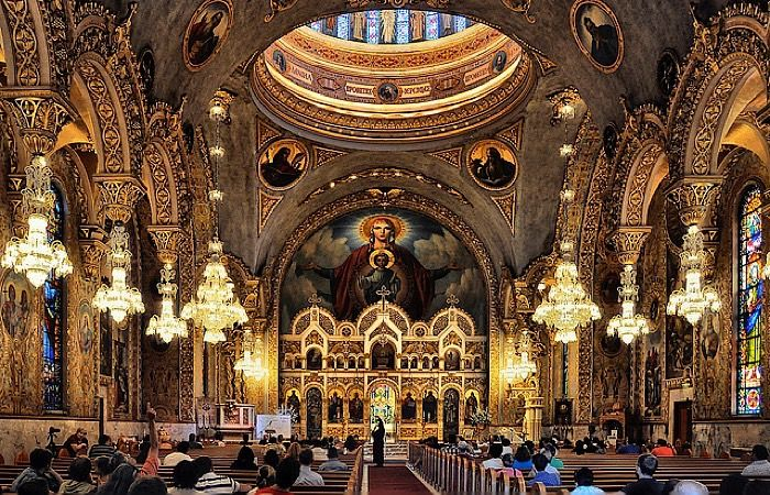 St. Sophia Greek Orthodox Cathedral, Los Angeles, CA via ...