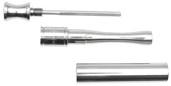 Pipe Supplies Dunhill Pipe Gadget Titanium Polished
