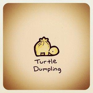Turtle Dumpling Print