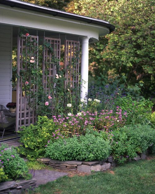 Dress up your garden with colorful blooms, charming pots, and more.