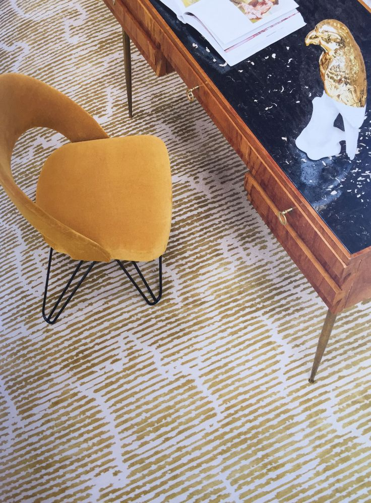 We Have Touched On The Hugely Popular Use Of Gold In Interior Design. This  Rug
