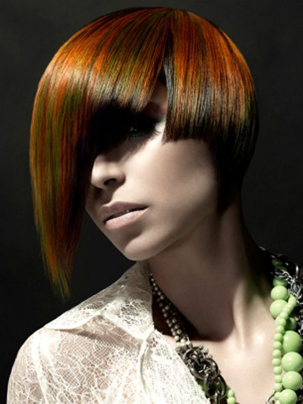 30 Edgy Medium Hairstyles With Color Hairstyles Ideas Walk The