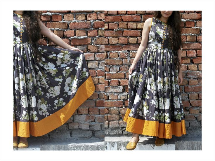 style yourself in ethereal flamboyant lengths this summer #dress #springsummer #streetstyle https://www.facebook.com/itrbykhyati