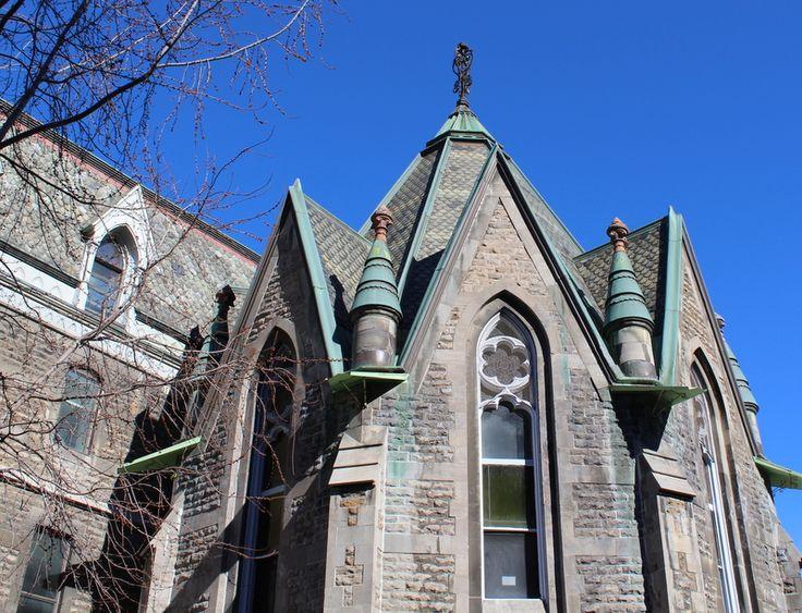 Morrice Hall at McGill University - slate roof