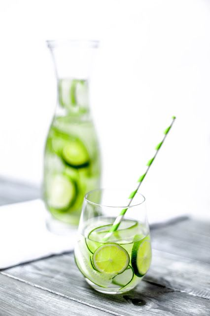 Lime & cucumber infused water – Ania's Vibrant Kitchen