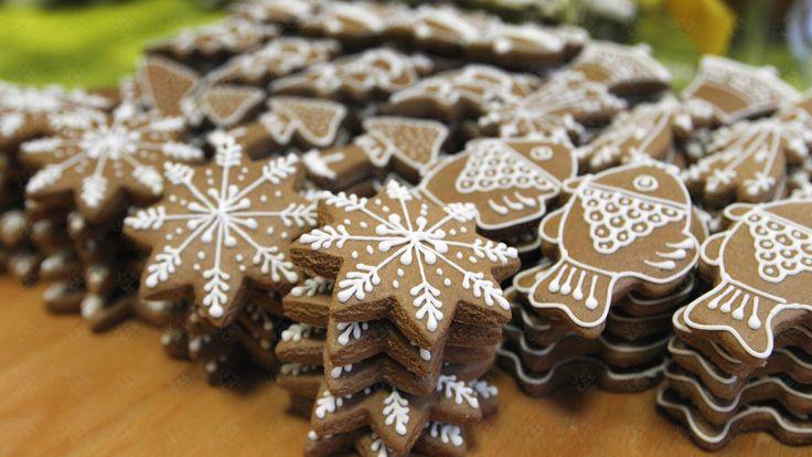 MEDOVNÍKY: Vianočné rybky, snehové vločky, | Nový Čas