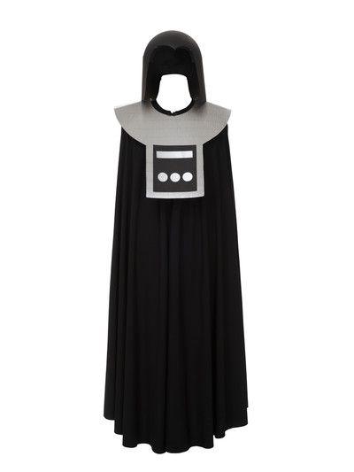 Das Kostüm zu nähen ist super-easy: Ein schnell genähtes Cape mit einer (Papp-) Rüstung darüber. burda style, Schnittmuster, Fasching, Kostüm, Star-Wars, Dark-Vader