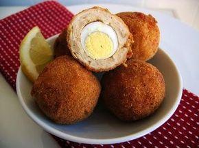 Como fazer ovos escoceses