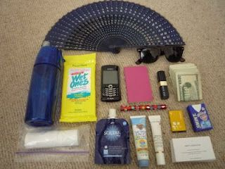 Coachella survival kit