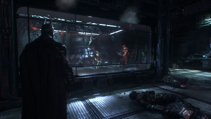 I may have just wet myself... Official Batman: Arkham Knight Gameplay Video – Time To Go To War
