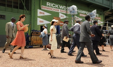 Birmingham screening set for Jackie Robinson movie 42, some of which was filmed here (video)