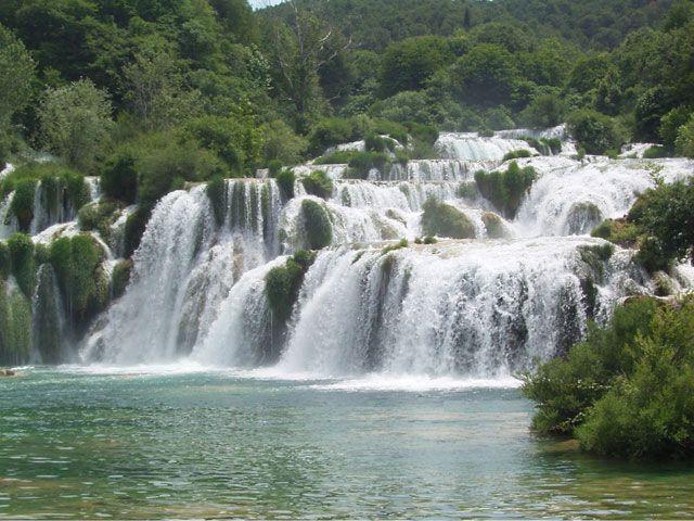 Blanche Marie falls, Suriname