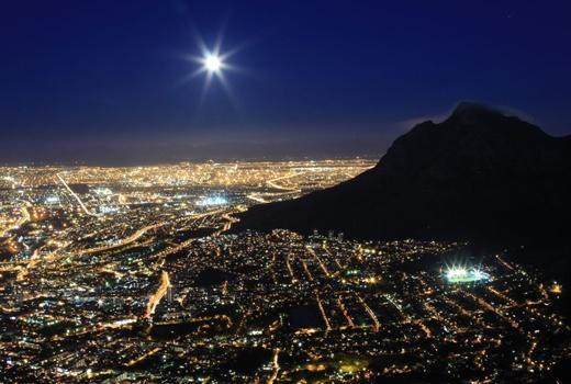 Lion's Head (Full Moon) hike in Kaapstad Zuid Afrika