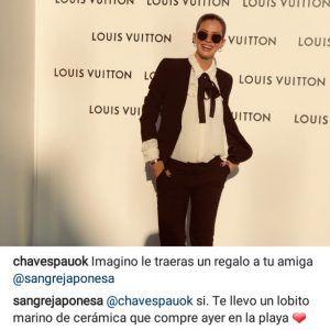 El guiño cómplice de Paula Chaves a la China Suárez