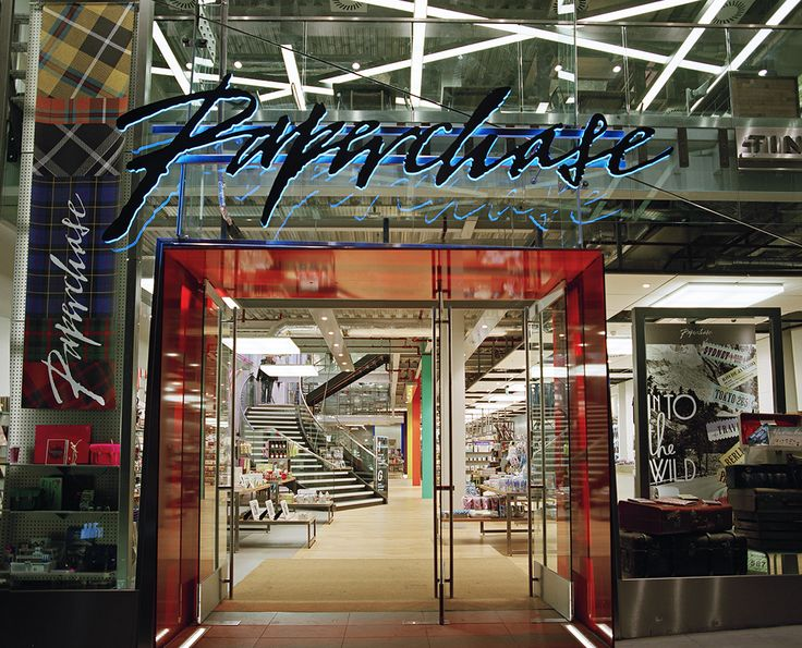 Award Winning Retail Interior Design By Made In Place For Their Work On Paperchase Glasgow