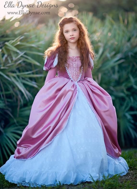 Ariel Disney Inspired Dress Ariel S Pink And White Dress From The