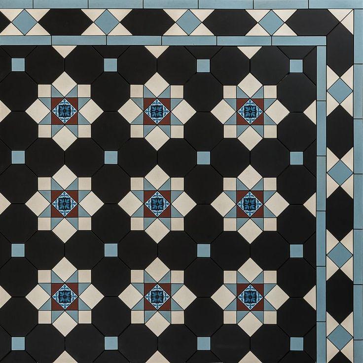 Pattern - Edinburgh Diagonal Design & Thorngrove Border