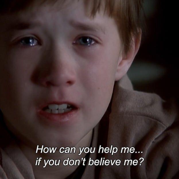 The Sixth Sense 1999 The Sixth Sense Movie Movie Scenes Film