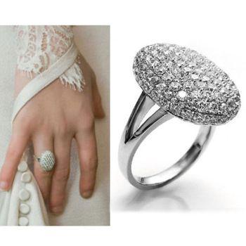 Новый женские обручальные кольца обручальное кольцо кристалл ювелирные изделия циркон размер 5,6, 7,8,