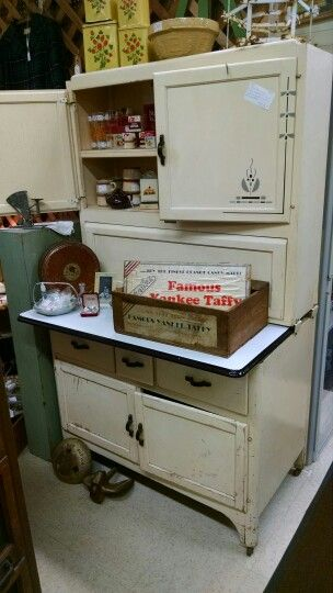 17 Best images about Antique Hoosier Cabinets And Container's on ...