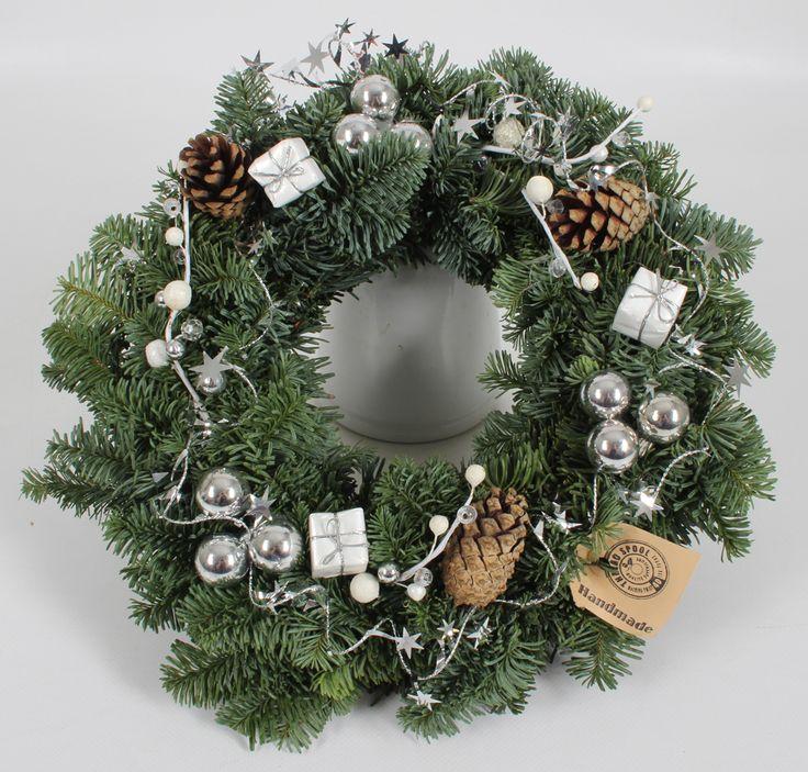Silver Fantasy wreath