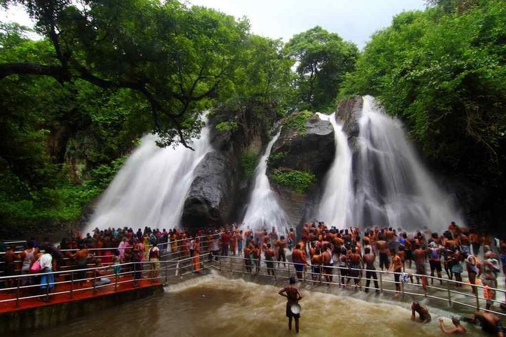 Five falls, Courtallam, Tirunelveli