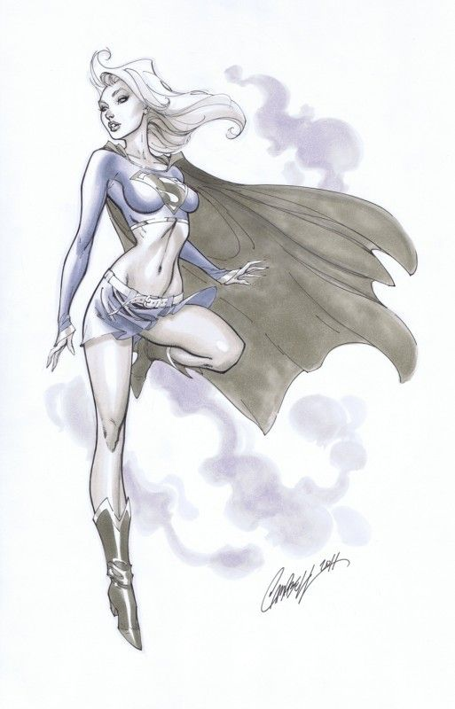 Supergirl Commission from J. Scott Campbell